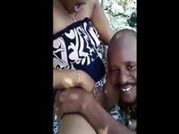Sextape et masturbation avec une haïtienne